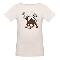 Ganesh Aum Organic Baby T-Shirt