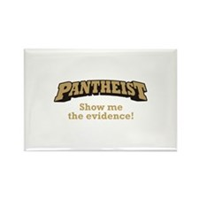 Pantheist / Evidence Rectangle Magnet