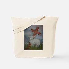 The Lamb of God Tote Bag