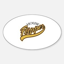 House Flipper Oval Decal