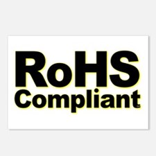 RoHS Compliant Postcards (Package of 8)