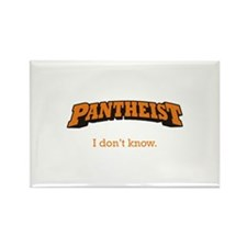 Pantheist / Know Rectangle Magnet