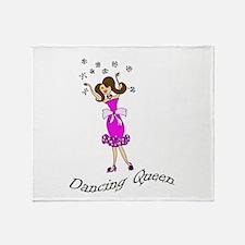 Dancing Queen Throw Blanket