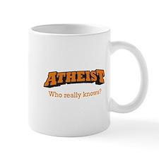 Atheist / Who Mug