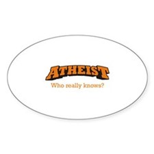 Atheist / Who Decal