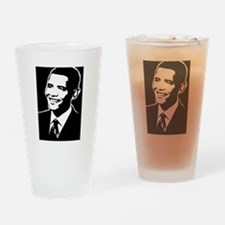 Obama Face: Drinking Glass