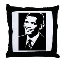 Obama Face: Throw Pillow