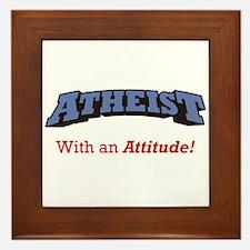 Atheist / Attitude Framed Tile