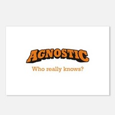 Agnostic / Who Postcards (Package of 8)
