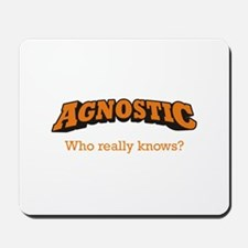 Agnostic / Who Mousepad