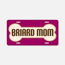 Briard Mom Pet Gift License Plate