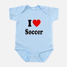 I Heart Soccer: Infant Bodysuit