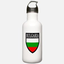 Bulgaria Flag Patch Water Bottle