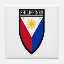 Philippines Patch Tile Coaster