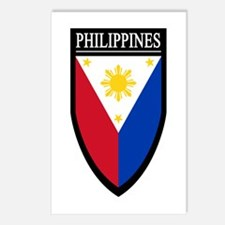 Philippines Patch Postcards (Package of 8)