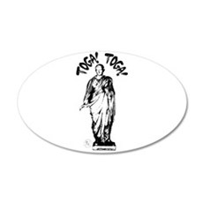 Toga Party 22x14 Oval Wall Peel