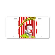 Arnold Clownenegger Aluminum License Plate