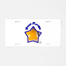 9-ball Star 2 Aluminum License Plate