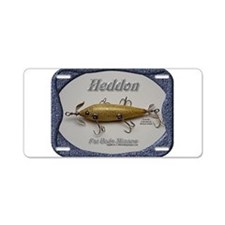 Heddon Fat Body Aluminum License Plate