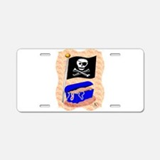 Pirate Booty Aluminum License Plate