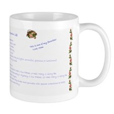 Recipe For Life - Small Mug