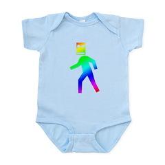 DUBSTEP Blockhead Infant Bodysuit