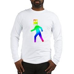 DUBSTEP Blockhead Long Sleeve T-Shirt