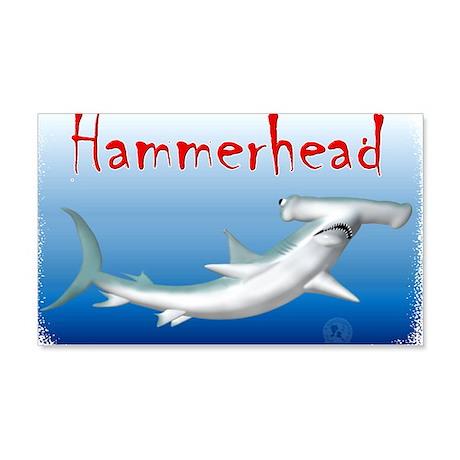 Hammerhead Shark 22x14 Wall Peel