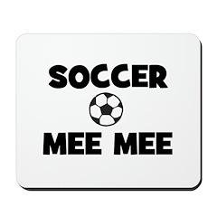 Soccer MeeMee Mousepad