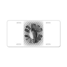 #1 Dad #1 Hubby Aluminum License Plate