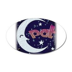 Celestial Pat 22x14 Oval Wall Peel