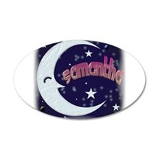Celestial Samantha Shirt 22x14 Oval Wall Peel