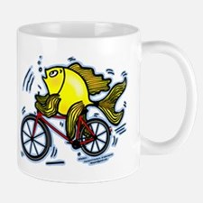 Bicycle Fish Mug