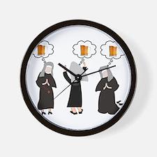 Nuns Jubilee Wall Clock