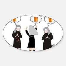 Nuns Jubilee Decal