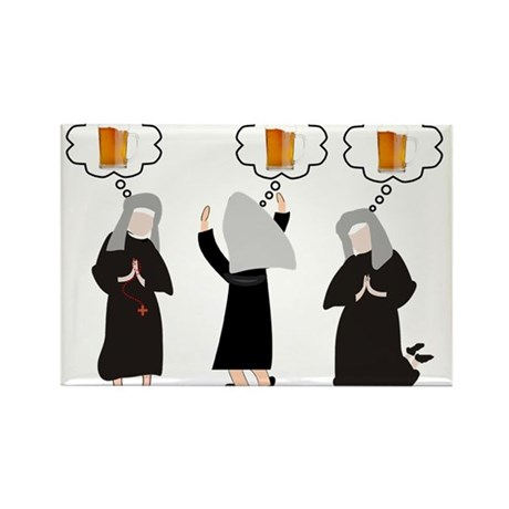 Nuns Jubilee Rectangle Magnet
