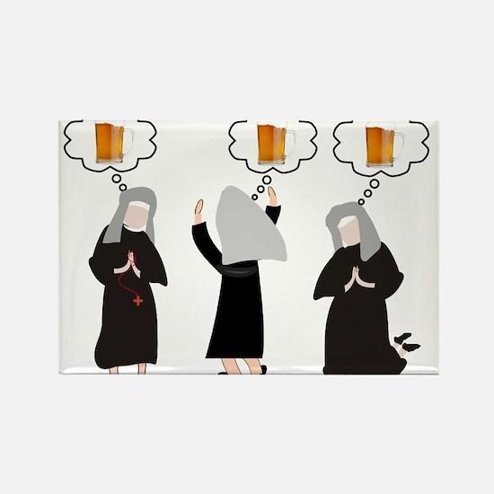 Nuns Jubilee Rectangle Magnet