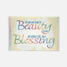 ACIM-Beauty & Blessing Rectangle Magnet