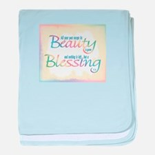 ACIM-Beauty & Blessing baby blanket