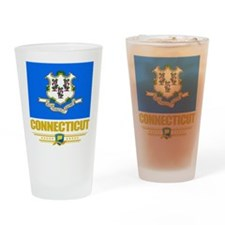 Connecticut Pride Drinking Glass