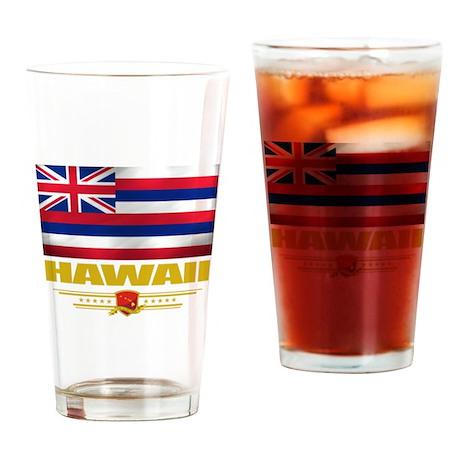 Hawaiian Pride Drinking Glass