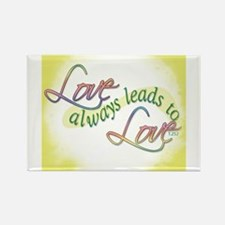 ACIM-Love Always Leads to Love Rectangle Magnet