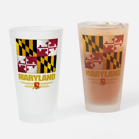Maryland Pride Drinking Glass