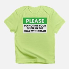 Trash Warning - Infant T-Shirt