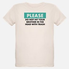 Trash Warning - T-Shirt