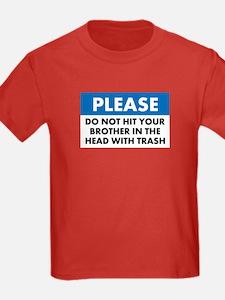 Trash Warning - T