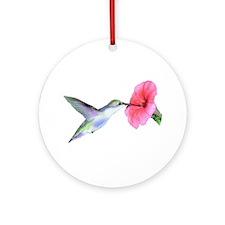 Humming Bird Ornament (Round)