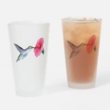 Humming Bird Drinking Glass