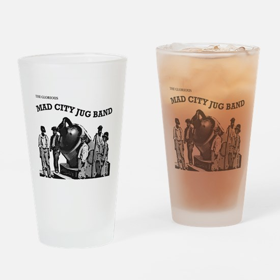 Cute Mad city Drinking Glass
