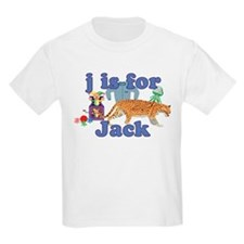J is for Jack T-Shirt
